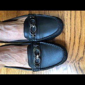 Coach leather fortunata loafer
